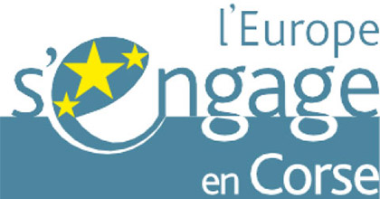 Logo de l'Europe s'engage en Corse